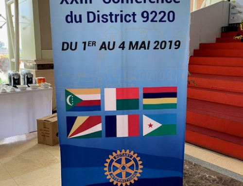 XXIIIeme Conférence du District 9220 – Rotary International
