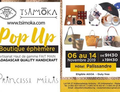 Pop Up – Boutique éphèmère – Tsimoka
