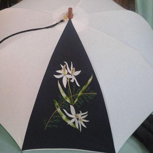 OSS BRODE ORCHIDEESFEUILLES 500x500 - Parapluies OSS BRODE ORCHIDEES+FEUILLES
